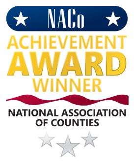 NACO (National Association of Counties) Achievement Award Winner