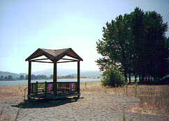 Gazebo at Prescott Beach